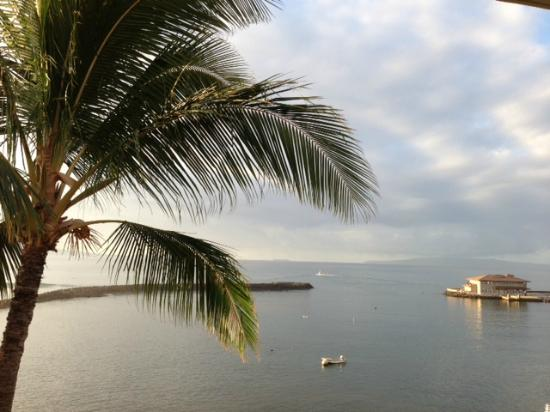 Maalaea Yacht Marina: From lanai