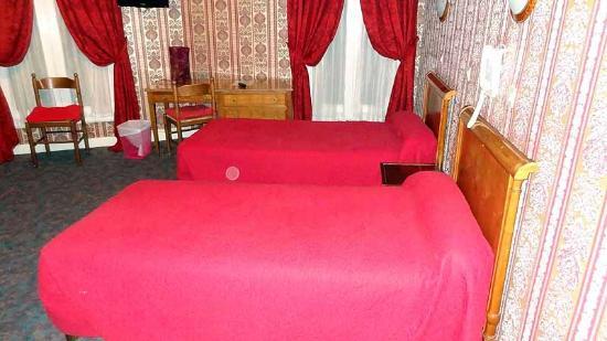 Grand Hotel de Paris: Quatriple 