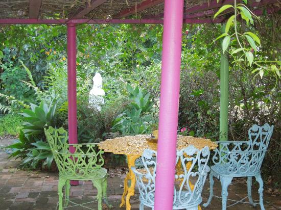 Villa Escazu: lovely gazebo in the garden