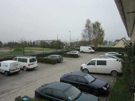 Hôtel Relais d'Étretat: parking extérieur