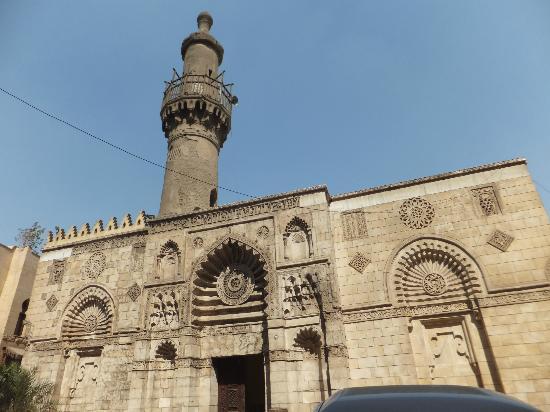 Gray Mosque (El-Aqmar Mosque): Fatimid facade of the mosque