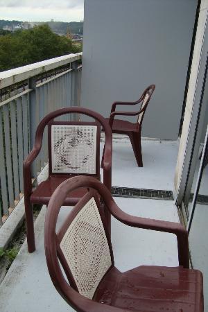 Hotel d'Angleterre: Balcony.....!
