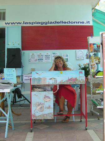 La Spiaggia delle Donne: Daniela