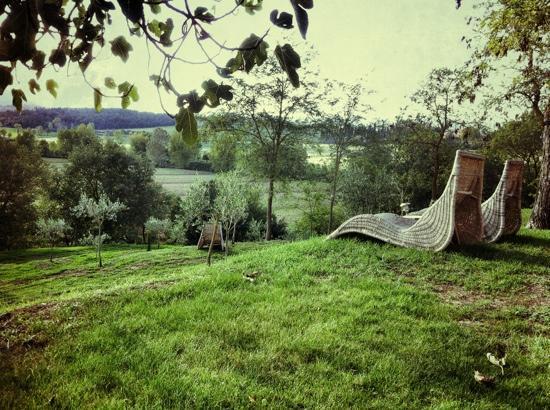 Siena House: Garden