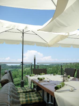 Hotel Liebmann : Terrasse