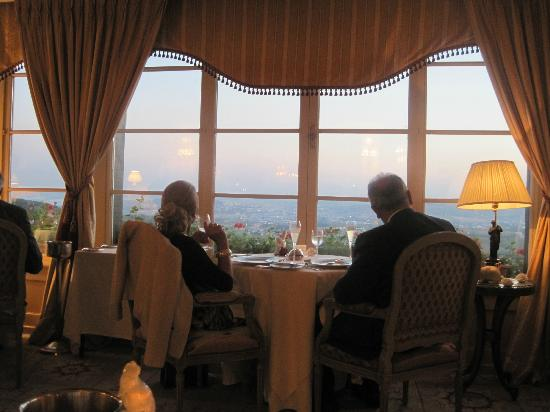 Royal Champagne: The view from the restaurant