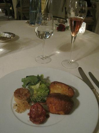 Royal Champagne: Tasting menu