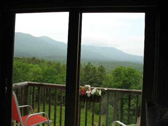 The George Ellen Bed and Breakfast: View from the top bed room