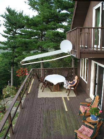 The George Ellen Bed and Breakfast: The deck
