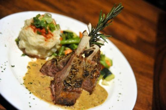 The Cattle Baron: Rack of Lamb