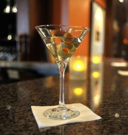 The Cattle Baron: Classic Gin Martini..