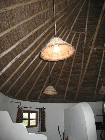 Cool bamboo ceiling