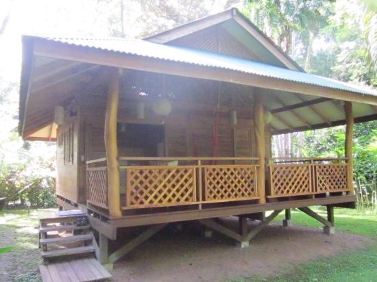 La Finca Chica: Front view of cabin 4