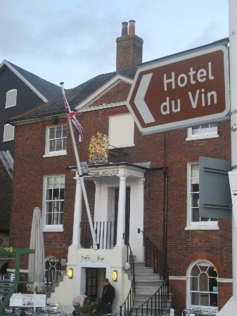 Hotel du Vin Poole: easy to find!