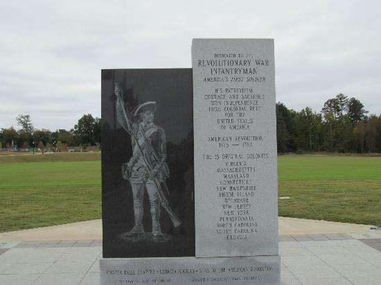 National Infantry Museum and Soldier Center: Infantry memorial