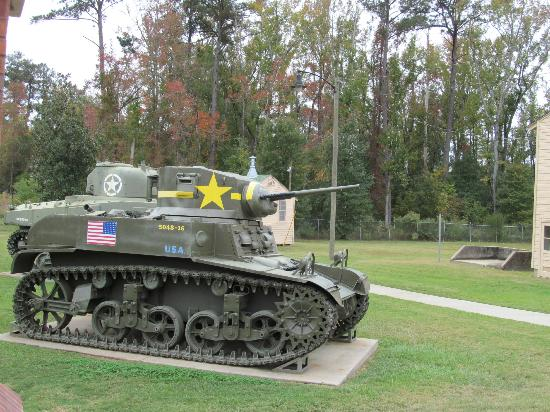National Infantry Museum and Soldier Center: WWII Tank