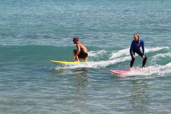 Billabong Surf Camp & School: Surf lesson