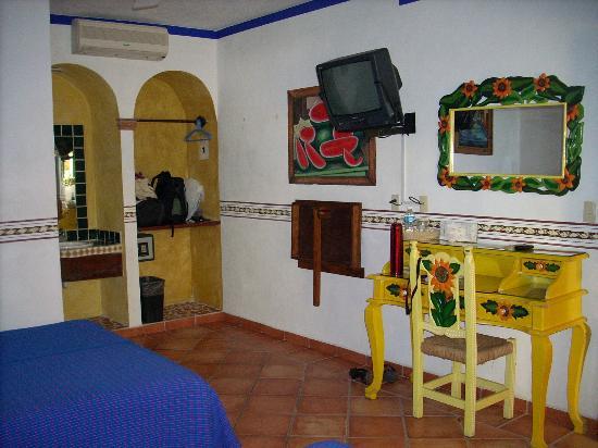 Hotel Hacienda del Caribe: Habitacion