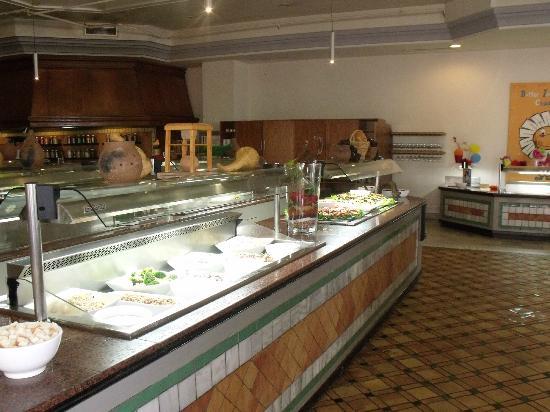 H10 Rubicon Palace: Buffet Bar