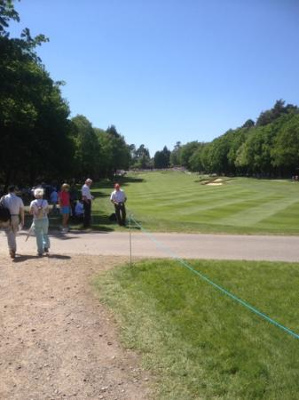 Virginia Water, UK: 2012 pga wentworth