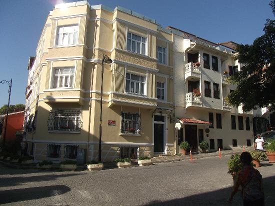 Sarı Konak: Sari Konak Hotel, Istanbul
