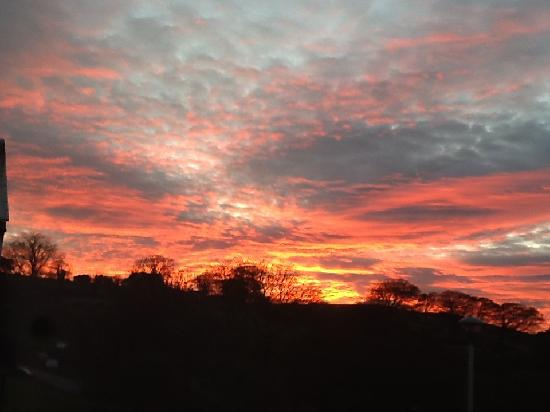 Dun Ard: Amazing sunset in October !