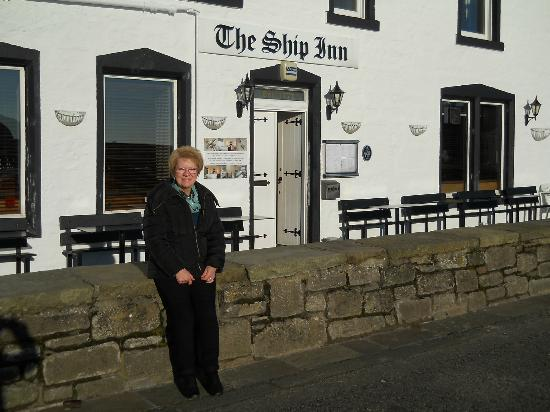 Pose taken outside of Ship Inn Stonehaven