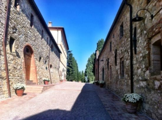Castello di Casole Private Estate & Spa: The grounds