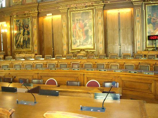 Hotel de Ville: where the Lyon city council meets