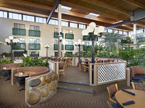 Botanica Garden Restaurant: Tropical setting