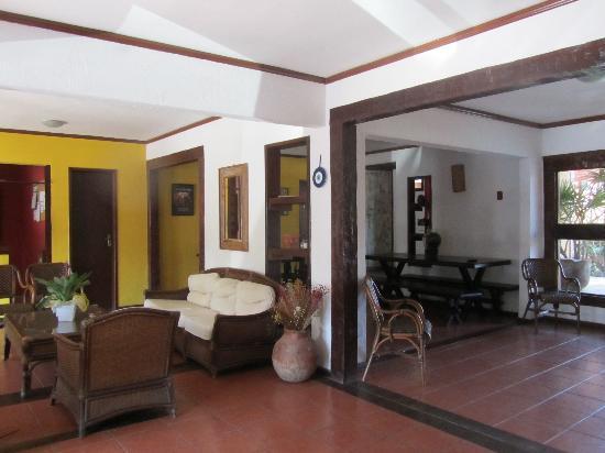 Pousada Kilandukilu: Hall de recepción