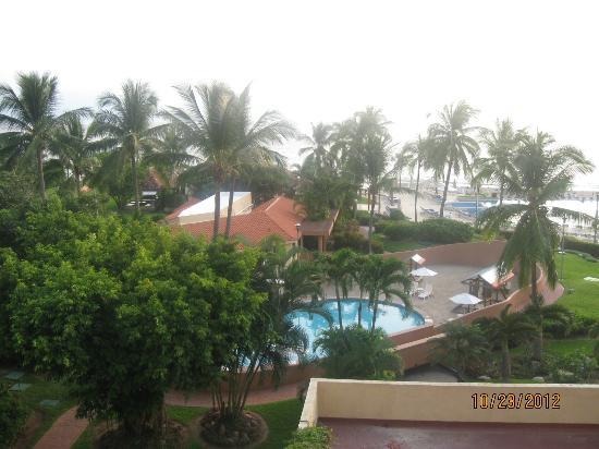 CasaMagna Marriott Puerto Vallarta Resort & Spa : View from balcony of our room