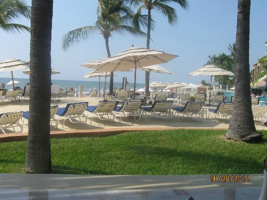 CasaMagna Marriott Puerto Vallarta Resort & Spa : Hotel Beach