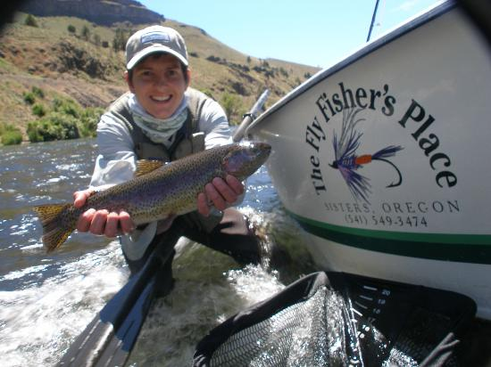 Dan Anthon's Just Add Water Fly Fishing-Day Tours : Joeys Deschutes Redside