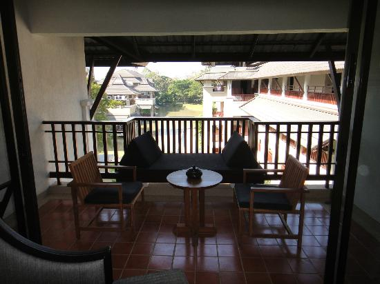 Le Meridien Chiang Rai Resort: Balcony by day