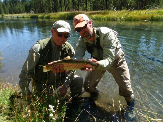 Dan Anthon's Just Add Water Fly Fishing : Big Fall River Rainbow
