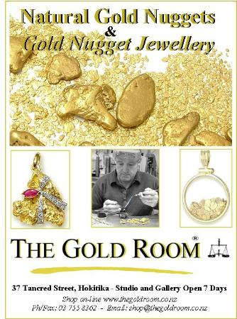 The Gold Room: Natural Gold Nugget Jewellery