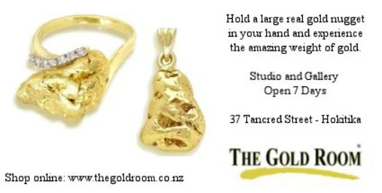 The Gold Room: Natural Nugget Pendant and Ring