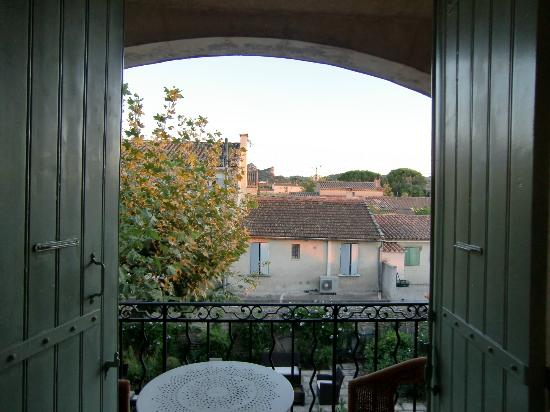 Le Castelet des Alpilles: Balcony and view from my room