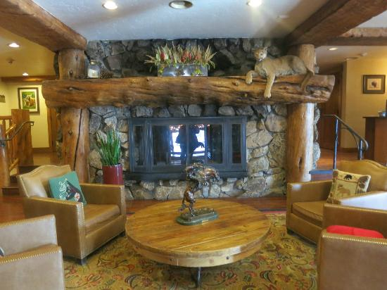 Snake River Lodge and Spa: Lobby