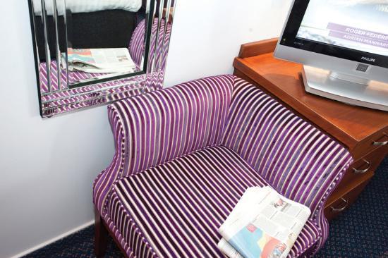 Best Western Nottingham Derby: Nottingham Derby Hotel Bedroom