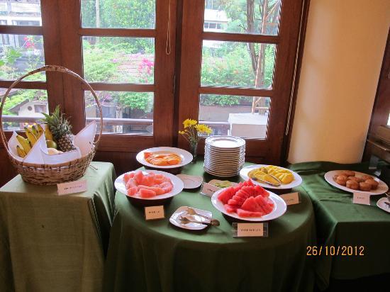 Savoy Hotel Yangon: Fruit