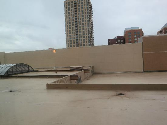 Salt Lake Marriott Downtown at City Creek: Great View...NOT