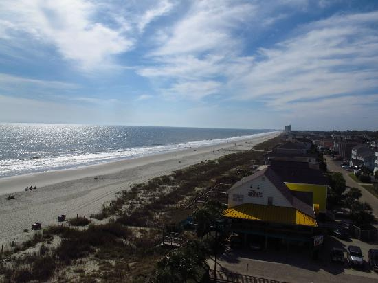 Surfside Beach Oceanfront Hotel: View from 7th floor