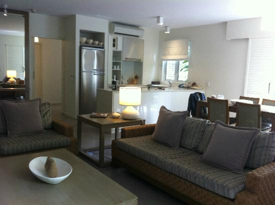 Peppers Beach Club Port Douglas: 1br suite - modern & well-appointed with full kitchen