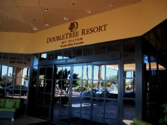 DoubleTree Resort by Hilton Paradise Valley - Scottsdale: Double Tree Entrance