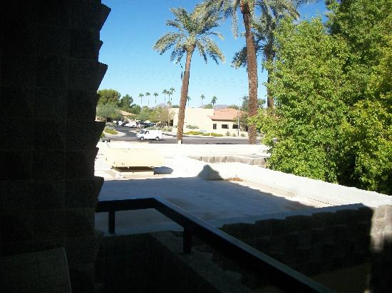 "DoubleTree Resort by Hilton Paradise Valley - Scottsdale: View from ""smoking room"" balcony"