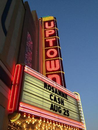 The Uptown Theatre: Exterior