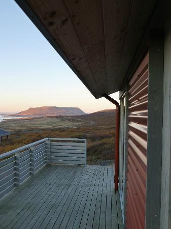 Hotel Glymur: View from the deck