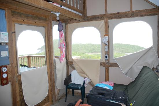 Concordia Eco-Tents: Inside